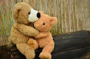 About Counselling. Teddy's hugging